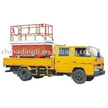 Vehicle Carrying Scissor Lift