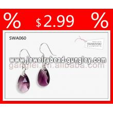 Genuine austrian crystal fashion earring