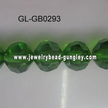 Facets crystal beads