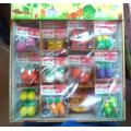 3D Colorful Pencil Erasers Display Box Eraser New Design