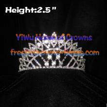 Big Clear Diamond Pageant Crowns