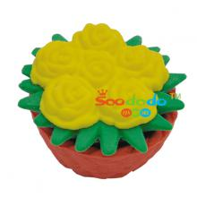 Potted flower 3D Shaped Eraser