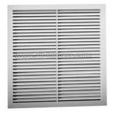 Aluminum Return Air Grille, 45-degree Deflection