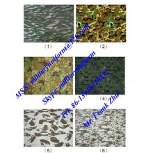 Digital Rip-stop Miilitary Camouflage Fabric Military Wool Fabric Melton Serge Worsted Wool Fabric