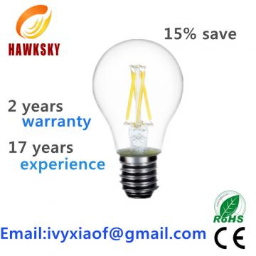 save 15% high quality led filament bulb