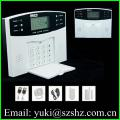 Wireless Intelligent LCD display home security GSM alarm system GSM-500