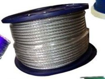 Fine 316l Stainless Steel 2mm Wire Rope Hot Dipped Galvanized For Crane Purpose