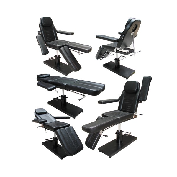 China wholesale stainless steel tattoo rotation chair for Cheap tattoo tables