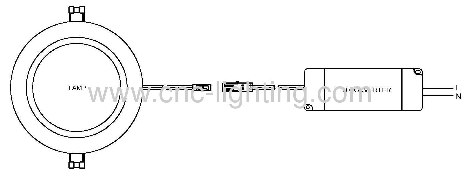 0 10v Dimming Terbenam Menyebabkan Downlight Yang Sesuai Dengan 80ra Led Wiring Diagram 11 27w Embedded Fitting With Cri Over