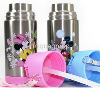 Baby Milk Travel Bottle Thermos Vaccum Flask Stainless Steel