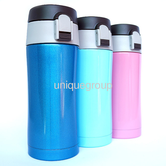 Vacuum Stainless Steel Flask Thermos Coffee Drink Travel Tumbler 350ml HOT/COLD