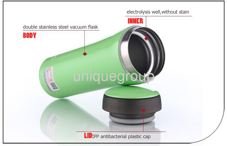 Vacuum Mug Thermal bottle flask,water drink cup