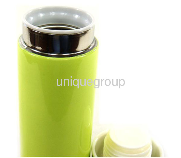 Capsule Cup Stainless Thermos Coffee Bottle Flask Vacuum Mug 200ml 7oz