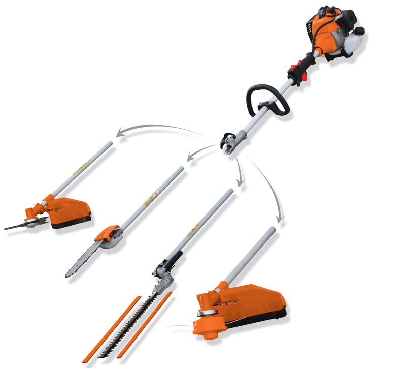 4 in 1 gasoline brush cutter