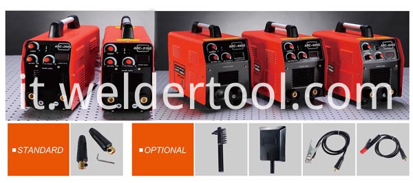 Multifunctional welder and welding supplies