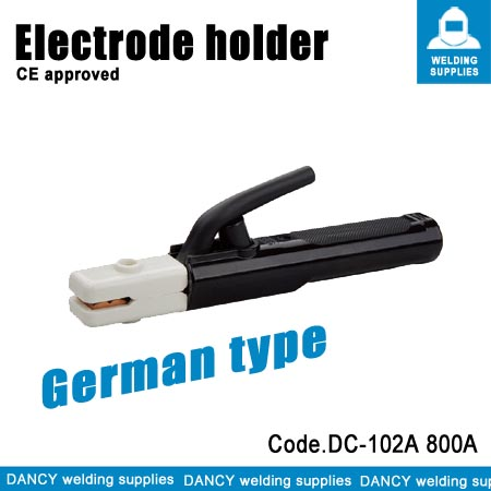 German type welding electrode holder