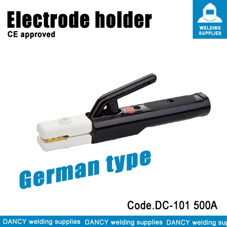 Electrode holder for welding machine