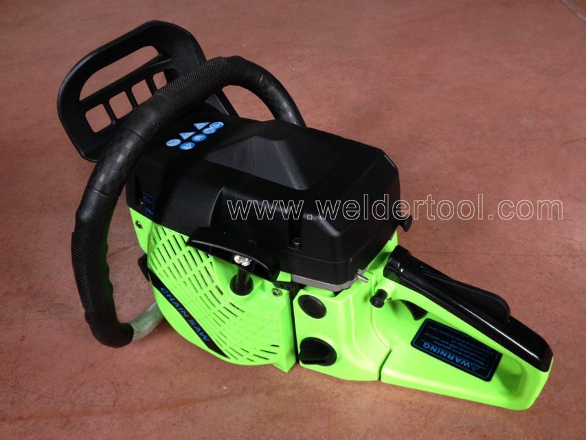 New design gasoline chain saw