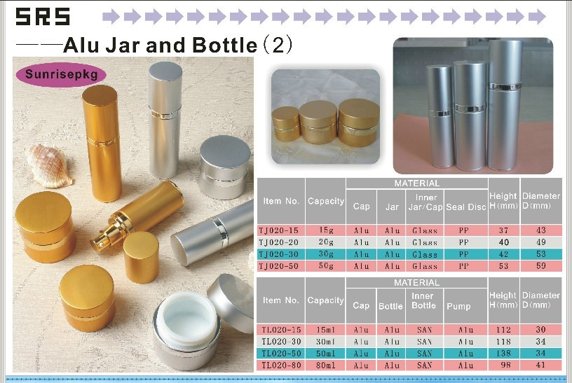 Aluminum Jars & Bottles