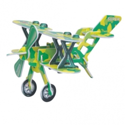 Educational Airplane EPS Puzzle
