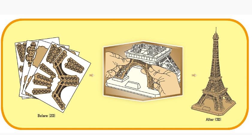 3D Building Puzzle