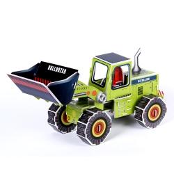 Toys Puzzles bulldozer