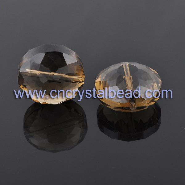 amber chunky beads