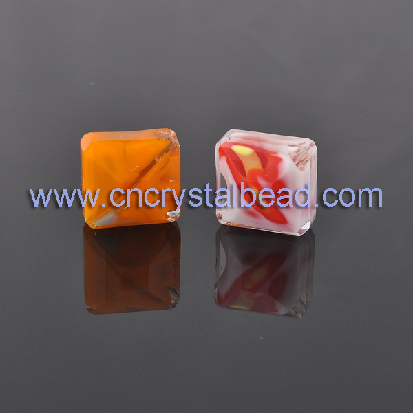 millefiori glass beads
