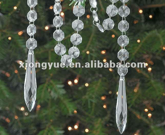 crystal beaded chain decoration
