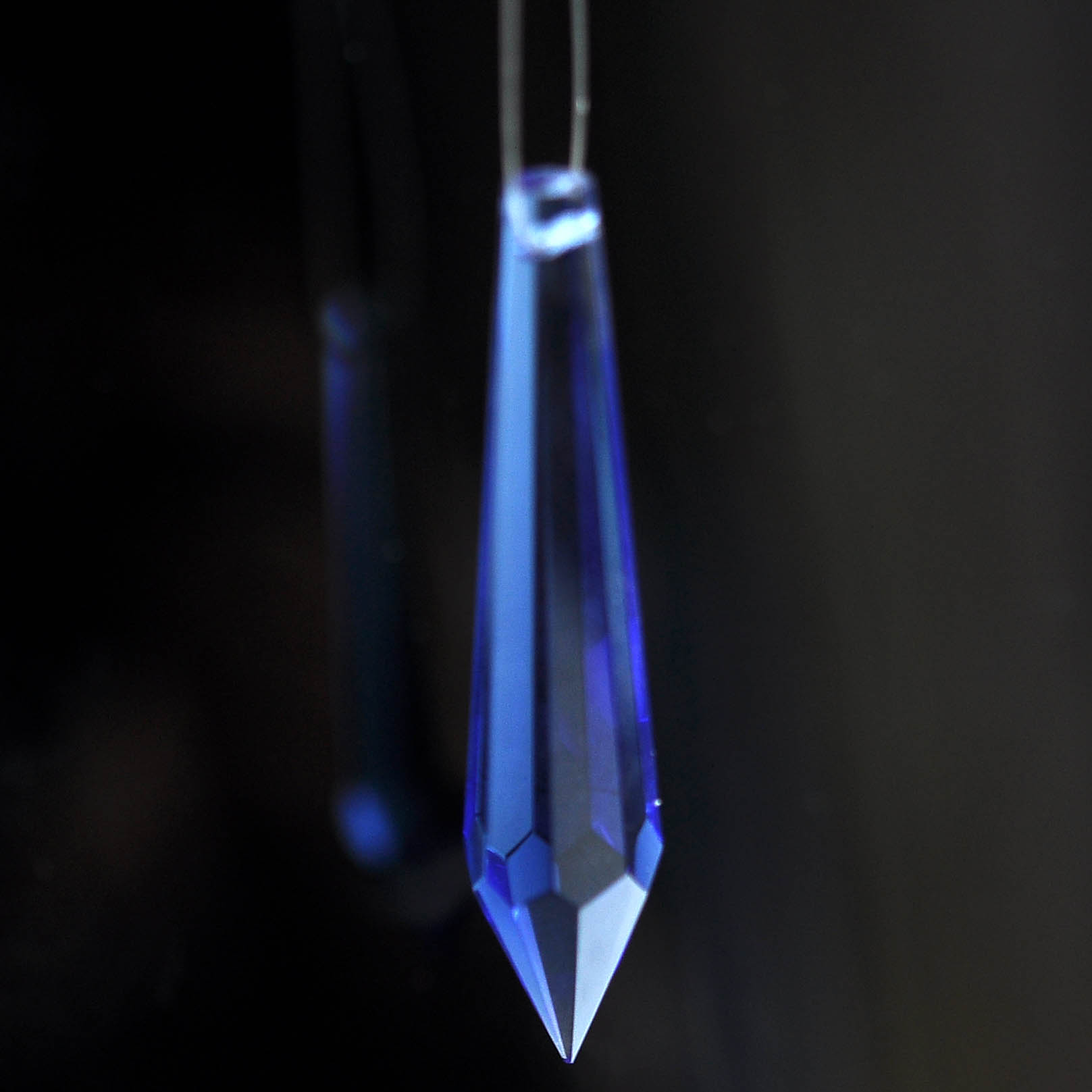 blue crystal raindrop