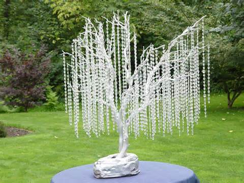 crystal beaded wedding tree decoration
