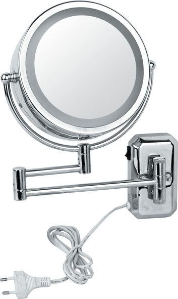 Round Table Makeup Mirror