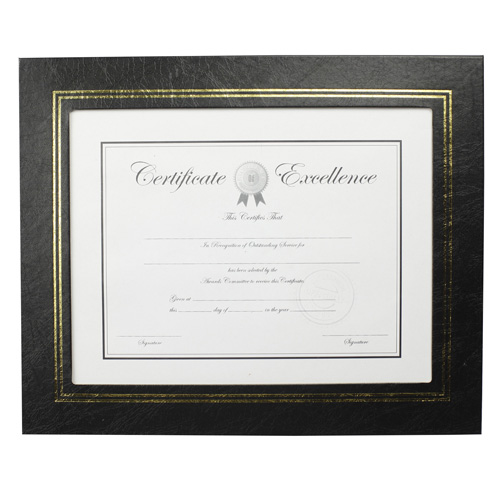 Plastic Graduation Document Frame