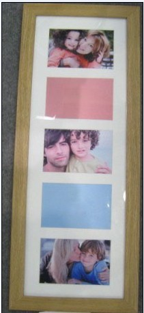 Eco-Friendly Wooden Photo Frame