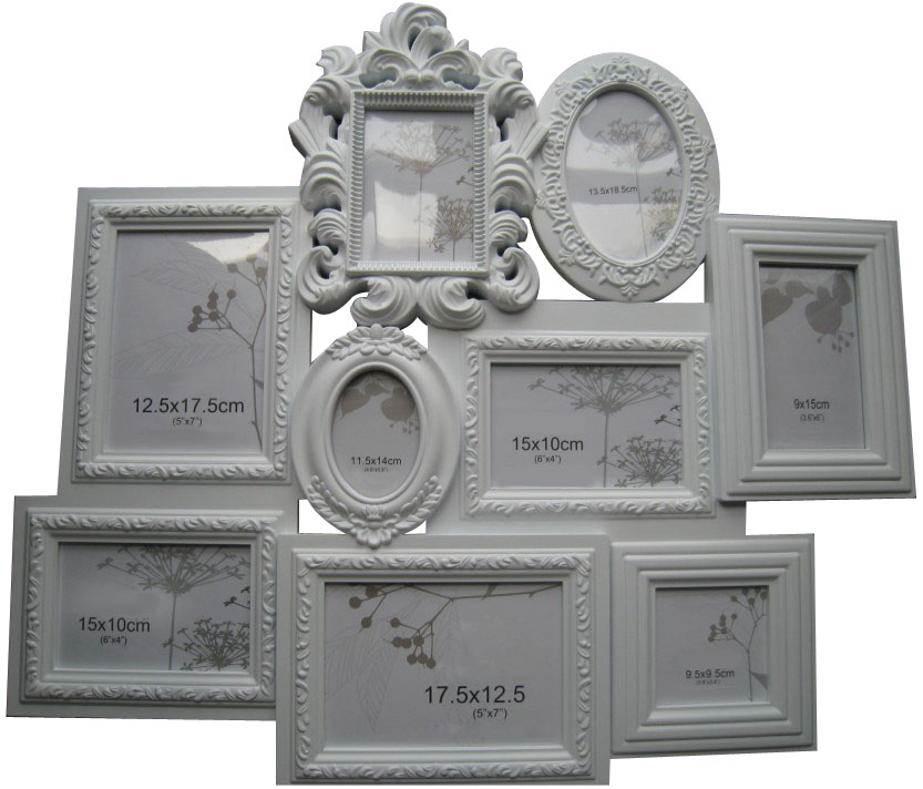Plastic Collage Frame