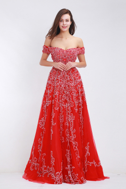 A-Line/Princess Chiffon Floor Length Formal And Prom Dresses