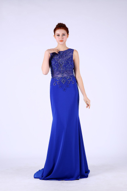 Sheath/Column Chiffon Floor-Length Mom of the Bride Dresses