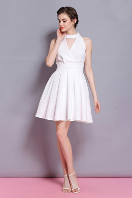 A-Line/Princess Chiffon Short/Mini Wedding Summer Dresses