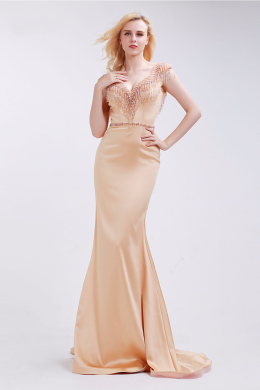Sheath/Column Satin Floor-Length Bridal Mother Dresses