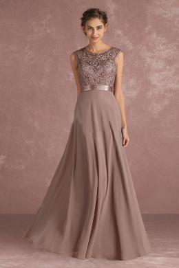 A-Line/Princess Chiffon Floor-Length Bridesmaid Dress Designers