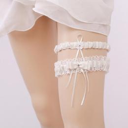 Wedding Bridal Lace Garter Legs Garter Belt For Bridal and Bridemaids Size Adjustable
