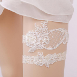 Wedding Bridal Garter Belt Lace Bridemaids Legs Belt Prom Vintage for Women Lady Party