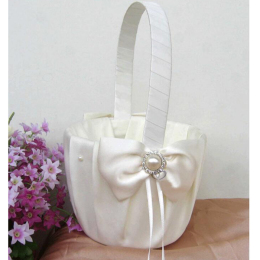 Flower Girl Basket Wedding Collection Traditional