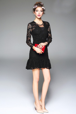 Sheath/Column Lace Short/Mini Summer Dress for Wedding