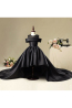 A-Line/Princess Satin Floor Length Dresses for Flower Girl in Wedding