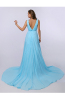 A-Line/Princess Chiffon Sweep Train Macy Bridesmaid Dresses
