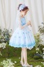 A-Line/Princess Tulle Short/Mini Flower Girl Dresses for Fall Wedding