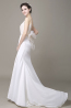 A-Line/Princess Chiffon Sweep Train  Wedding Dress Shops